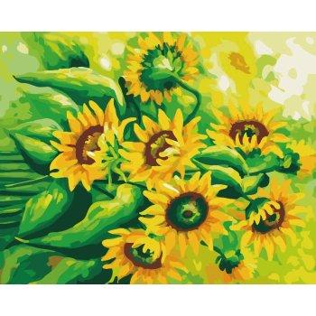 g215 sonnenblumen design malerei auf leinwand 2015 heiße bilder malerei diy Öl malen nach zahlen