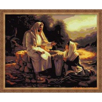 gute qualität diy Öl malen nach zahlen g025 Gott Design P ainting auf leinwand