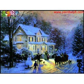 diy Ölbild von digitale Ölgemälde für anfänger schnee design malerei