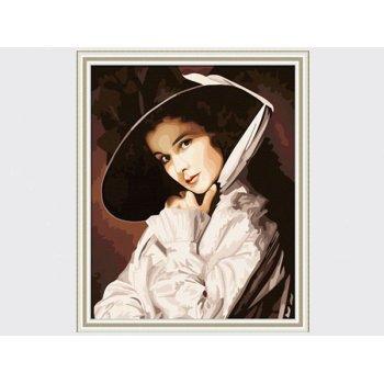 gt166 frauen foto bilder auf leinwand neuen stil malen nach zahlen