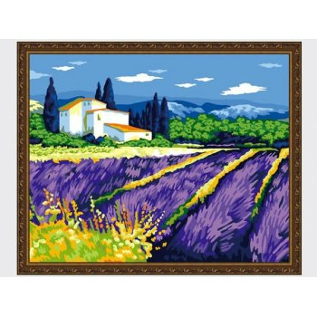 g247 blume naturel Landschaft leinwand Ölgemälde neuen stil malen nach zahlen
