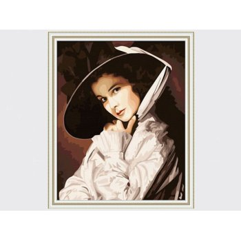 Ölgemälde von digitalen diy Öl malen nach zahlen sexy frauen bild malerei xsx1013