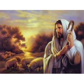 großhandel diy malerei Ölbild auf leinwand nach Anzahl Gott design