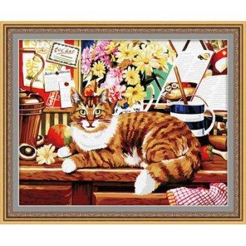 großhandel diy malerei mit Zahlen g030 katze design tierbilder malerei auf leinwand zu malen Junge jia cai tian yan