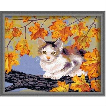 Katze bild tier-design leinwand Ölgemälde färbung von Zahlen großhandel diy Öl malen nach zahlen