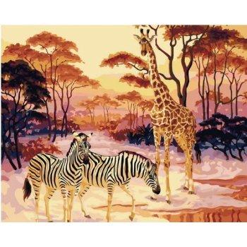 großhandel malen nach zahlen Natur Tierfoto landschaftsmalerei auf leinwand digitale malerei