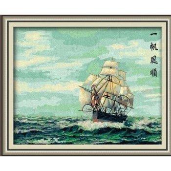 großhandel diy Ölgemälde seenlandschaft chinesische Öl malen nach zahlen