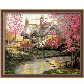 großhandel diy malerei mit Zahlen g100 blume haus acrylmalerei jia cai tian yan painti junge marke