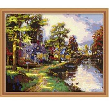Landschaft leinwand gemälde heißer verkauf malerei china großhandel diy malen nach zahlen