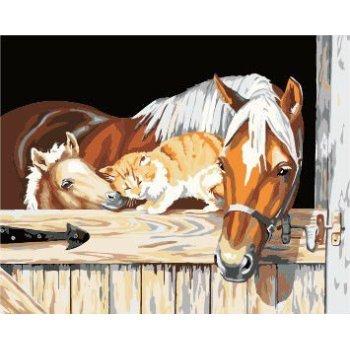 großhandel pferd design Bild leinwand Ölgemälde yiwu fabrik malen nach zahlen