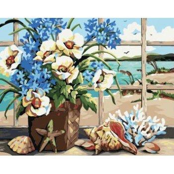 Großhandel malen mit zahlen blumen-design Bilder malerei auf leinwand yiwu großhandel