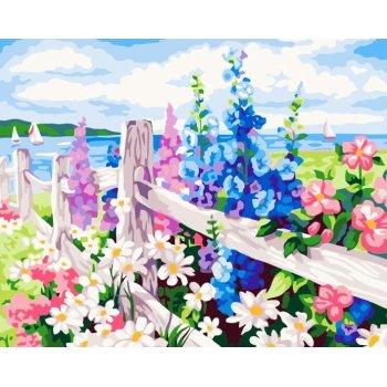 G183 abstrakten Öl malen nach zahlen mit blumen-design handmaded malerei heißer verkauf blumenbilder