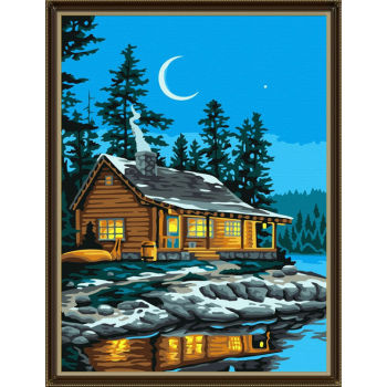 Malerei mit zahlen- Ölgemälde mit zahlen kits