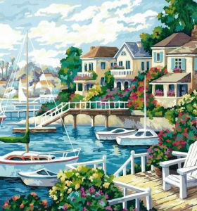 Painting by numbers - oil painting by numbers kits
