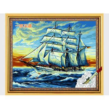 Malerei mit zahlen- diy Ölgemälde mit zahlen