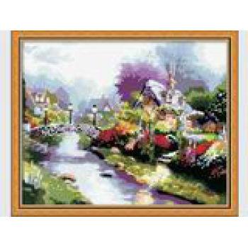 paintboy diy Ölbild von zahlen landschaft blume bild Ölgemälde auf leinwand