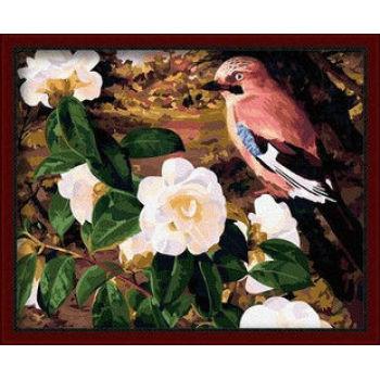 Blumen-und Tierfoto Malerei- en71-3- astmd- 4236 acrylfarbe- Lack Junge 40*50cm