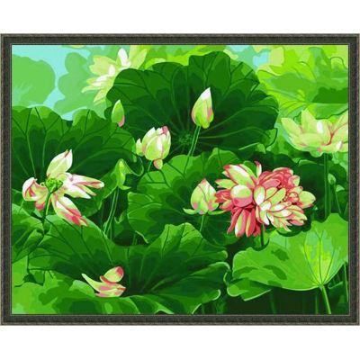 diy paint by numbers - flower acrylic paint - paint boy 40*50cm-oil paint art kit