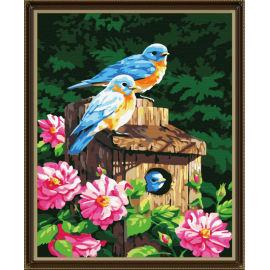 Ölgemälde für anfänger- Leinwand Ölgemälde set-diy kunst gesetzt- en71-3- astmd- 4236 acrylfarbe- g161