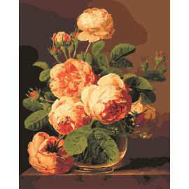 Malen nach zahlen- en71-3- astmd- 4236 acryl blume malen nach zahlen