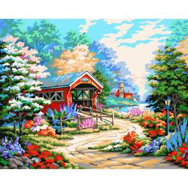 Malen Junge 40*50cm heißer verkauf handwerk geschenk färbung von zahlen diy großhandel bastelbedarf g184