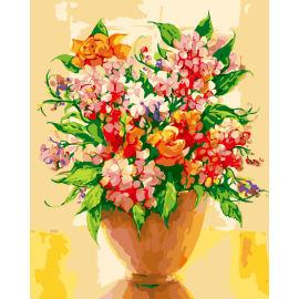 Paintboy malen mit zahlen- Umwelt acrylfarbe- Blume Ölbild auf leinwand