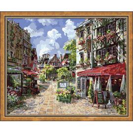 Malen mit zahlen- heißer verkauf handwerk geschenk färbung von zahlen diy großhandel bastelbedarf- g042