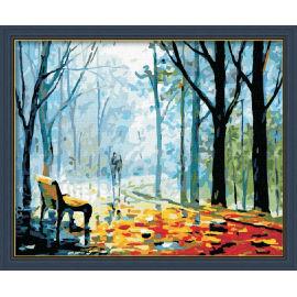 Abstrakten malerei nach zahlen- acrylfarbe- Baum foto leinwand gemälde g130