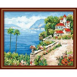 Landschaft Ölgemälde für anfänger- Leinwand Ölgemälde set-diy kunst gesetzt xsx g139