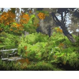 Gemälde von nummer, landschaft Ölgemälde, yiwu fabrik meistverkauften