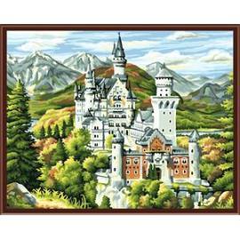 2014 fabrik verkaufen ce en71 abstrakte landschaft lack-sets für malerei