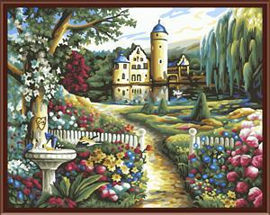 New design OEM with ce en71 diy oil painting by numbers