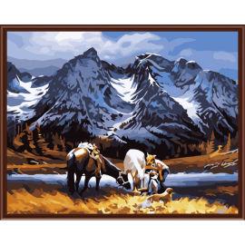 Abstrakte 2,5 cm Dicke holzrahmen malerei auf leinwand