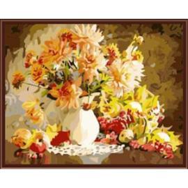 paintboy brand stock in abstrakten blume acryl diy malerei farbe durch zahlen