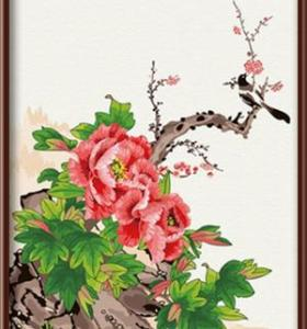 Wholesale newest DIY canvas oil painting by number