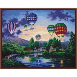 Billig heißen design hohe qualität diy 40*50 abstrakte malerei färbung von Zahlen