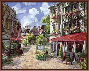 Wholesale DIY digital 40*50 canvas oil painting model by number
