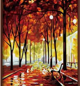 Wholesale DIY digital 40*50 canvas oil painting reproduction from china