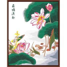 Großhandel sgs ce diy digitale 40*50 chinesische kalligraphie malerei auf leinwand