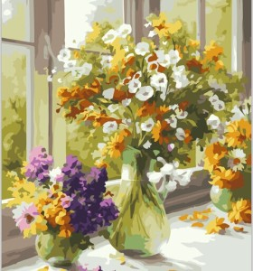 Paintboy brand yiwu manufactor wedding decoration hot photo diy painting by numbers