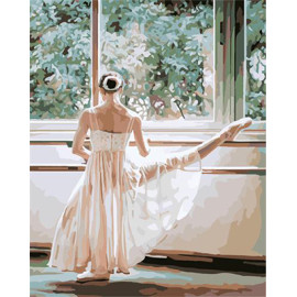 G401 paintboy ballerina painting by numbers for wholesales