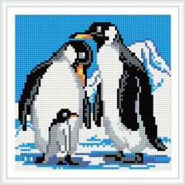 bz021 cool Pinguin tier 5d Brillanten malerei