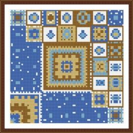bz028 abstrakte heiß im Sommer mosaik modernen Öl leinwand gemälde