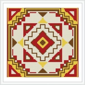 bz034 abstrakte heiß im Sommer mosaik diamant malerei seattle