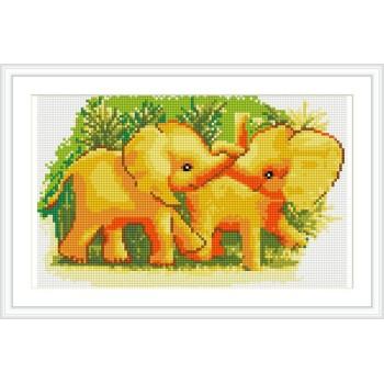 tier elefant Bild diy diamant malen nach zahlen cz002