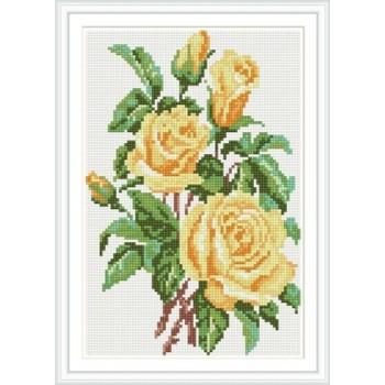 Gelbe rose diy vollen, runden diamant malerei für zu hause docor cz012