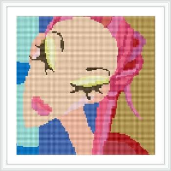 sexy lady voll bohren gerahmte leinwand diy Öl diamant Gemälde von Reihe dz047