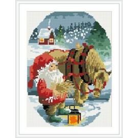 Diamant malerei für wohnkultur weihnachts-design heißen foto rz019