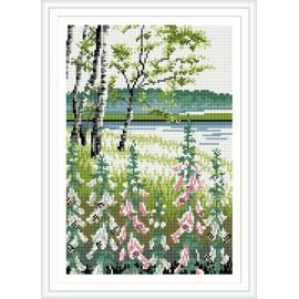 diamant malerei für wohnkultur Landschaft heißen foto rz020