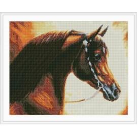 2.5mm runde diamant malerei mit pferd bild gz009
